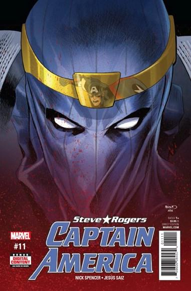 Captain America: Steve Rogers Cover - 4/1/2017