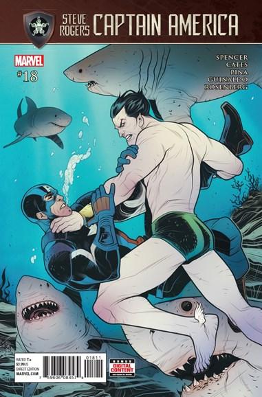 Captain America: Steve Rogers Cover - 8/1/2017