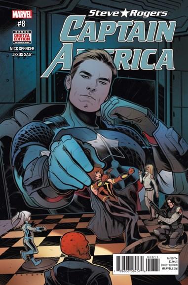 Captain America: Steve Rogers Cover - 2/1/2017