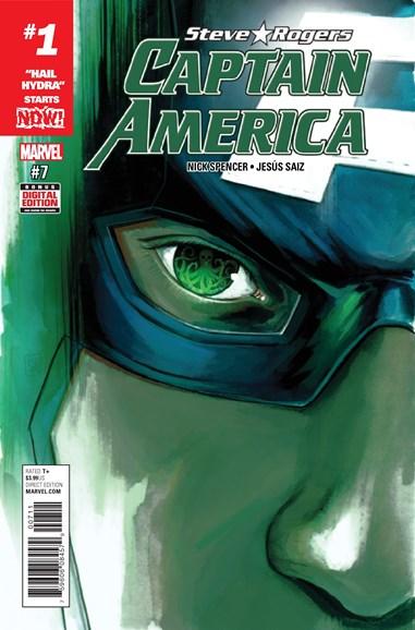 Captain America: Steve Rogers Cover - 1/1/2017
