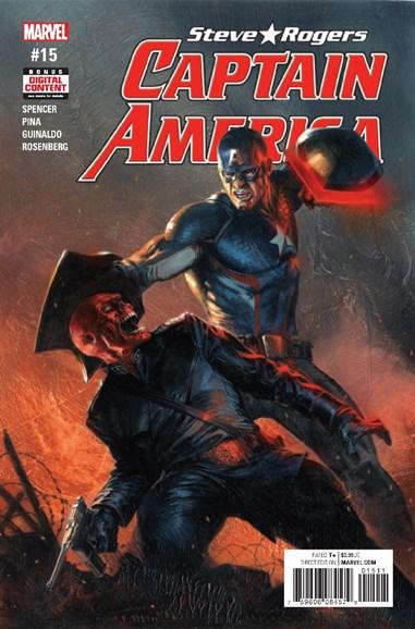 Captain America: Steve Rogers Cover - 6/1/2017