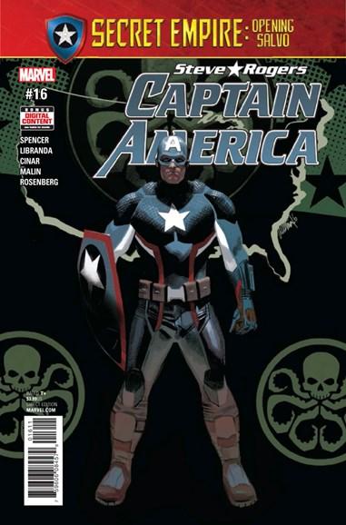 Captain America: Steve Rogers Cover - 6/15/2017