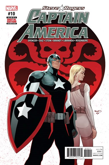 Captain America: Steve Rogers Cover - 3/15/2017