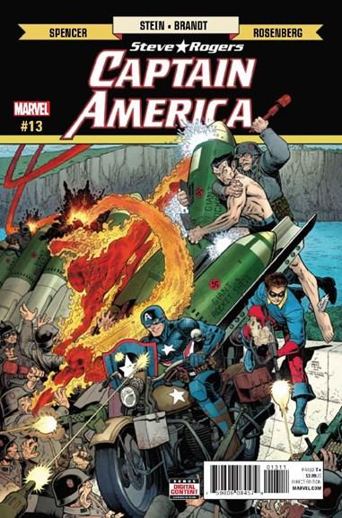 Captain America: Steve Rogers Cover - 5/1/2017