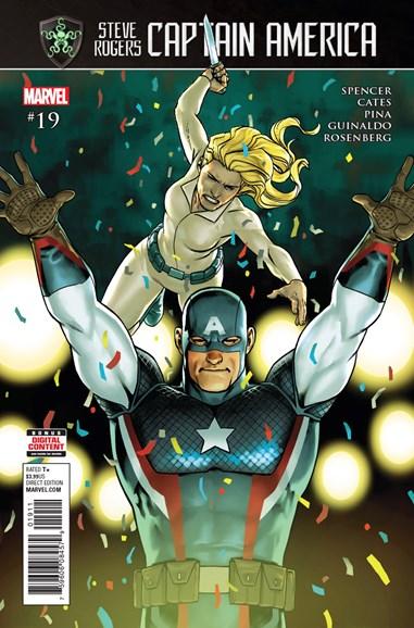 Captain America: Steve Rogers Cover - 9/1/2017