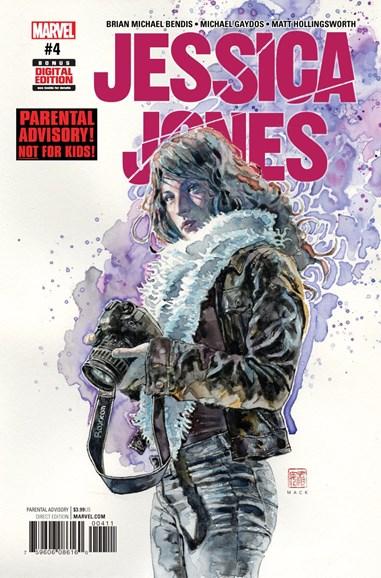 Jessica Jones Cover - 3/1/2017