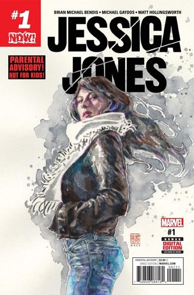 Jessica Jones Cover - 12/1/2016