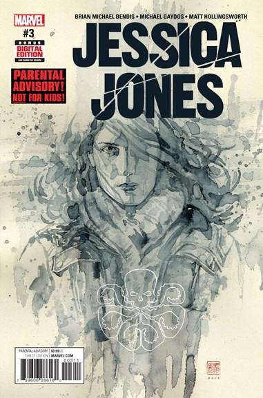 Jessica Jones Cover - 2/1/2017