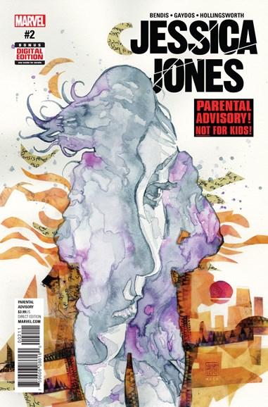 Jessica Jones Cover - 1/1/2017