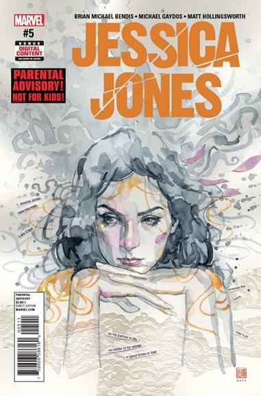 Jessica Jones Cover - 4/1/2017