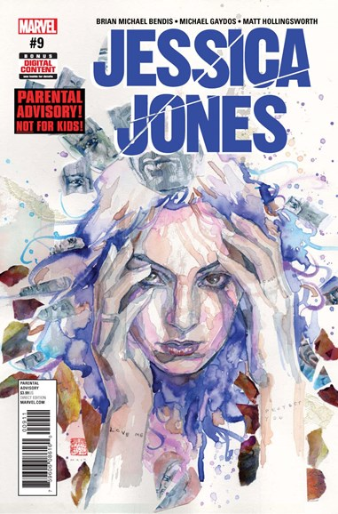 Jessica Jones Cover - 8/1/2017