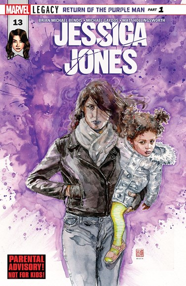 Jessica Jones Cover - 12/1/2017