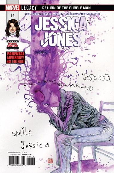 Jessica Jones Cover - 1/1/2018