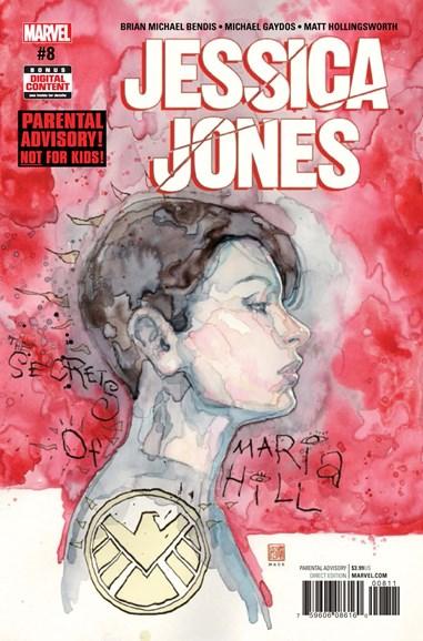 Jessica Jones Cover - 7/1/2017