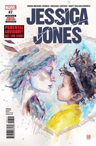 Jessica Jones Cover - 6/1/2017