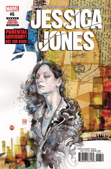 Jessica Jones Cover - 5/1/2017