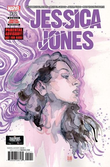 Jessica Jones Cover - 11/1/2017