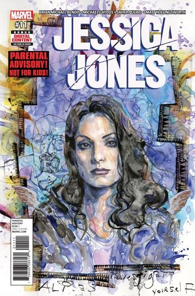 Jessica Jones Cover - 10/1/2017