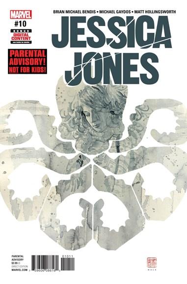 Jessica Jones Cover - 9/1/2017