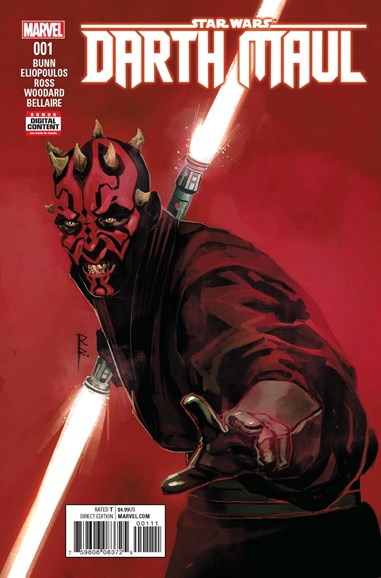 Star Wars: Darth Maul Cover - 4/1/2017