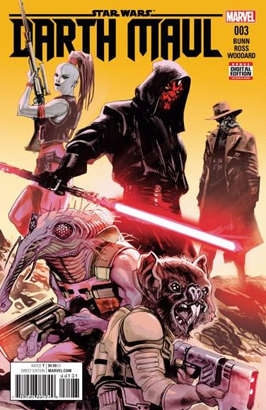 Star Wars: Darth Maul Cover - 6/1/2017