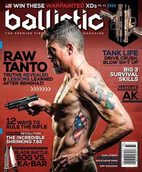 Ballistic Cover - 9/1/2017
