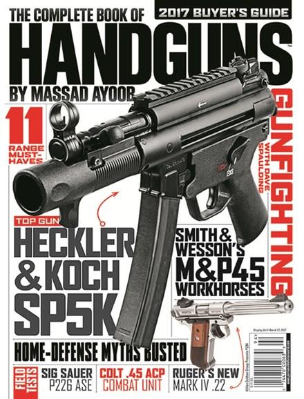 Combat Handguns Cover - 4/1/2017