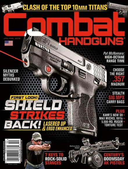 Combat Handguns Cover - 1/1/2018