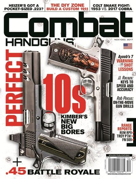 Combat Handguns Cover - 11/1/2017