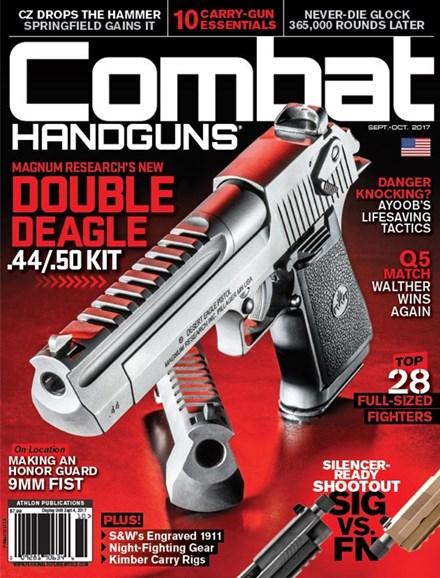 Combat Handguns Cover - 9/1/2017