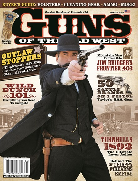Guns Of The Old West Cover - 1/1/2018