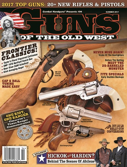 Guns Of The Old West Cover - 6/1/2017