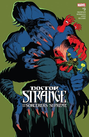 Doctor Strange And The Sorcerers Supreme Cover - 8/1/2017