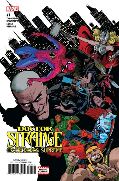 Doctor Strange And The Sorcerers Supreme Cover - 6/1/2017