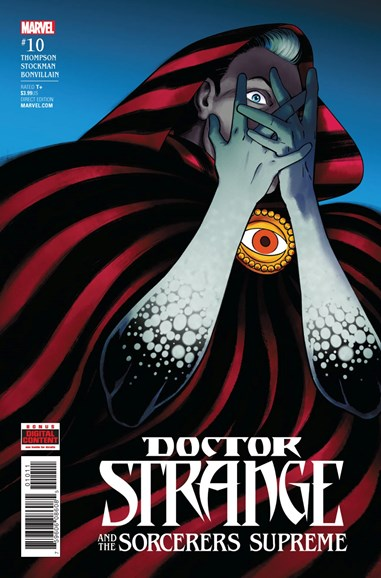Doctor Strange And The Sorcerers Supreme Cover - 9/1/2017