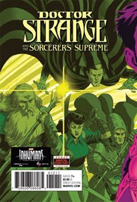 Doctor Strange And The Sorcerers Supreme | 11/1/2017 Cover