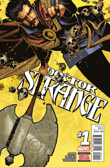 Doctor Strange Cover - 12/1/2015