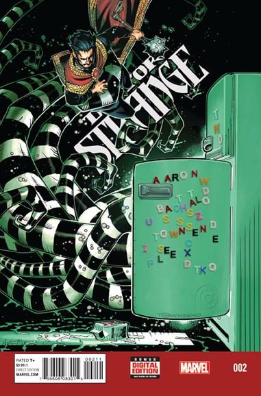 Doctor Strange Cover - 1/1/2016