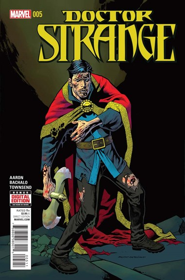 Doctor Strange Cover - 4/1/2016