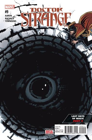 Doctor Strange Cover - 8/1/2016