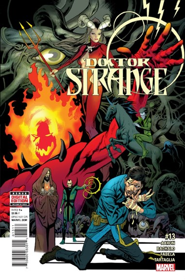 Doctor Strange Cover - 12/15/2016