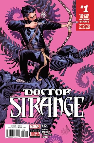 Doctor Strange Cover - 12/1/2016