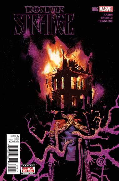 Doctor Strange Cover - 5/1/2016