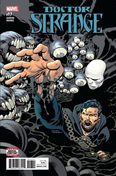 Doctor Strange Cover - 4/1/2017