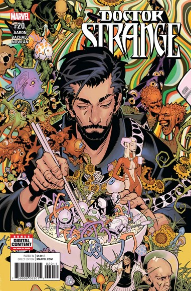 Doctor Strange Cover - 8/1/2017