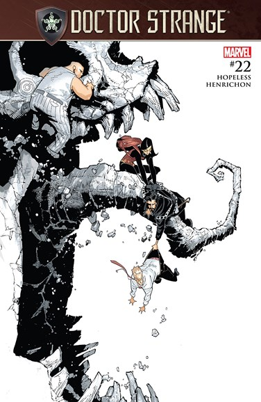 Doctor Strange Cover - 8/15/2017