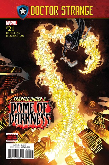 Doctor Strange Cover - 7/1/2017