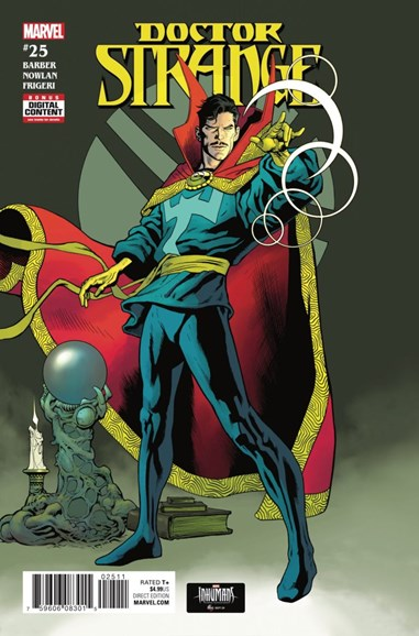 Doctor Strange Cover - 11/1/2017