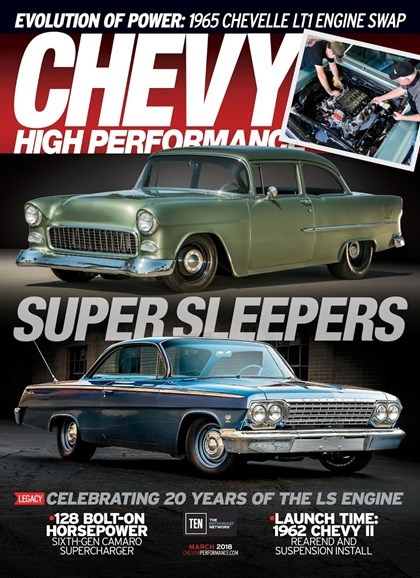 Chevy High Performance Cover - 3/1/2018