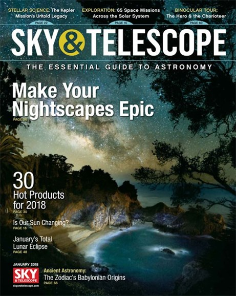 Sky & Telescope Cover - 1/1/2018